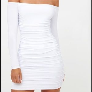 PrettyLittleThing Ruched Dress